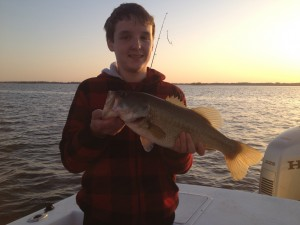 Maxx had a Susqy Flats Bonus.....5 pound Largemouth!