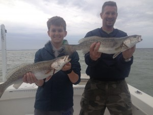 Great Stuff!  Father and Son's biggest Specks ever!!!!!