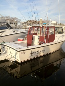 "My Boat "" Four Seasons"" ......great light tackle, shallow water boat!!!!"