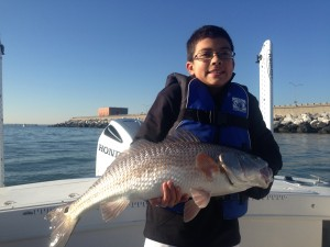 "a really nice 30"" Red Drum caught at the CBBT today by Bengi.......way to go!!!!