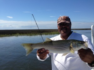 Big mike with one of many for him on Wednsday.....went from wind to flat....love when that happens!