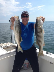 Plenty of keepers for a great Striper Dinner!