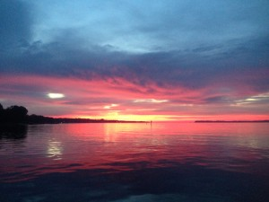 Beautiful Morning Crossing the Bay!