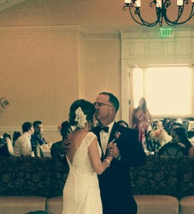 first dance.....whoop whoop!