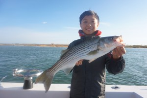 Spectacular young angler!