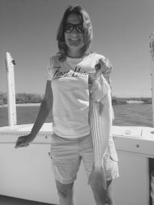 man can she fish!