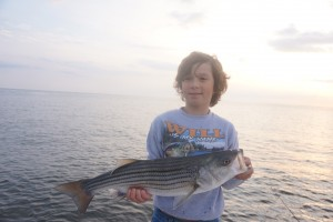 Great young angler was work'in the Jerk bait!