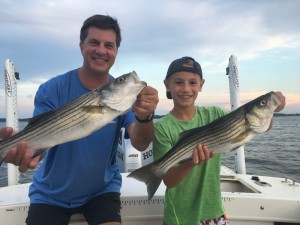 Some Great Father/Son Catching!