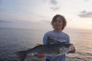Young angler with a great 